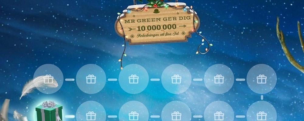 Över 10 miljoner kronor ska delas ut i årets julkalender