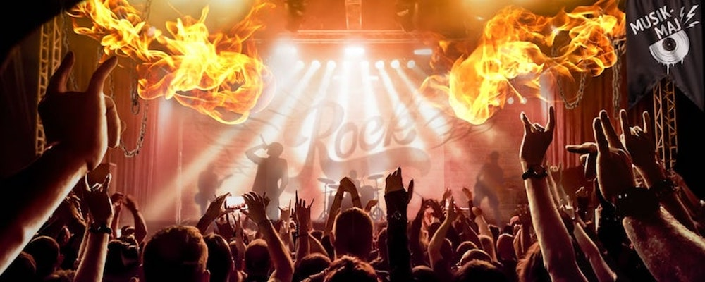 Rock-vecka med Coldplay-biljetter i potten hos Cherry