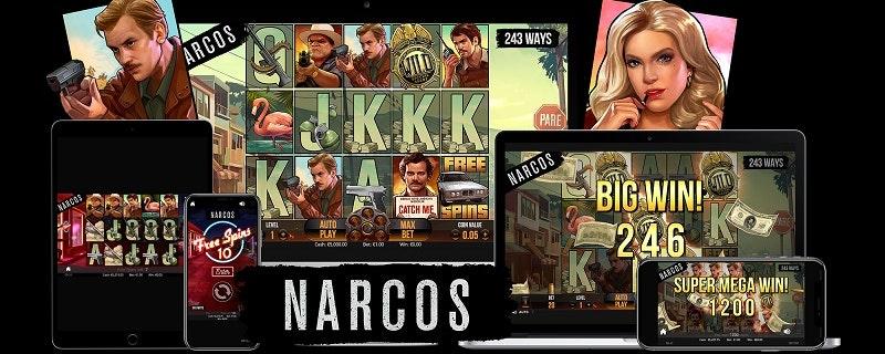 Efterlängtade spelautomaten om drogkriget i Colombia är här!