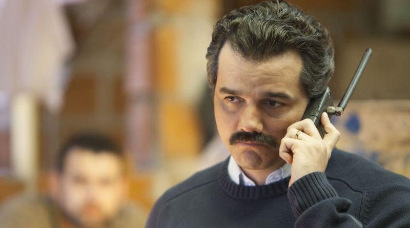 Pablo Escobar från första säsongen av Narcos