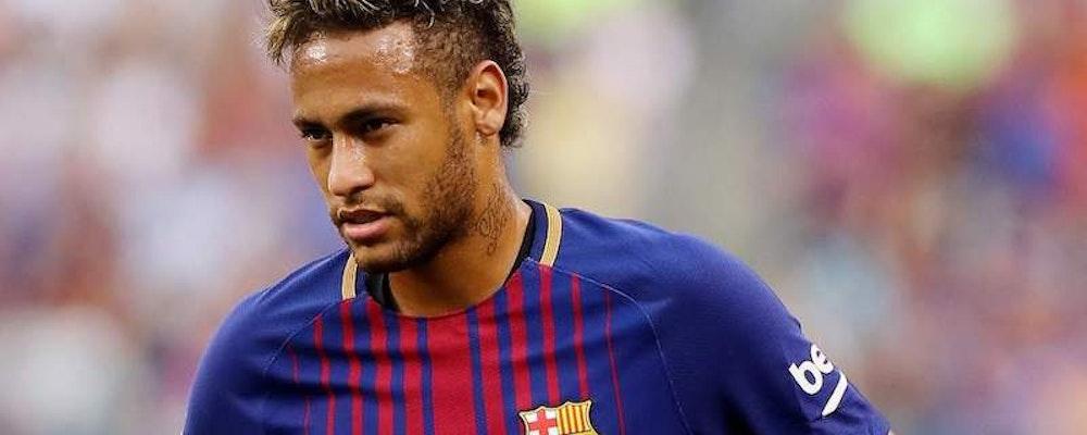 Neymar saknar Barcelona