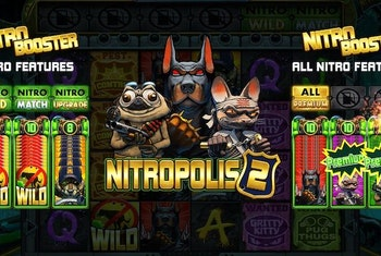 Nitropolis 2 från Elk Studios