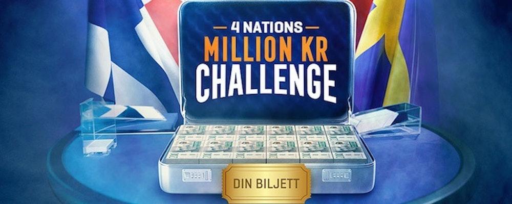 Nu har du chansen att vinna en miljon kronor hos stort nordiskt casino