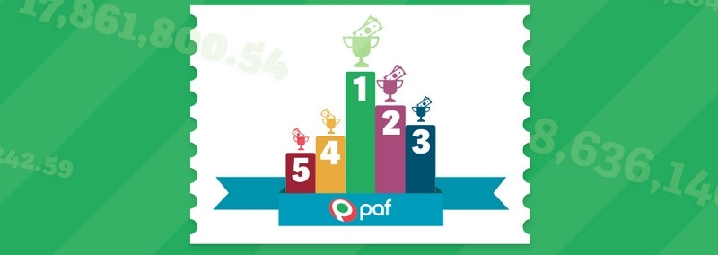 Vi spanar in Paf's 10 största jackpottar