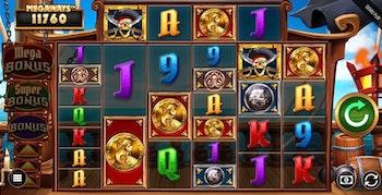 Pirates Bounty Megaways från Blueprint - exklusiv lansering