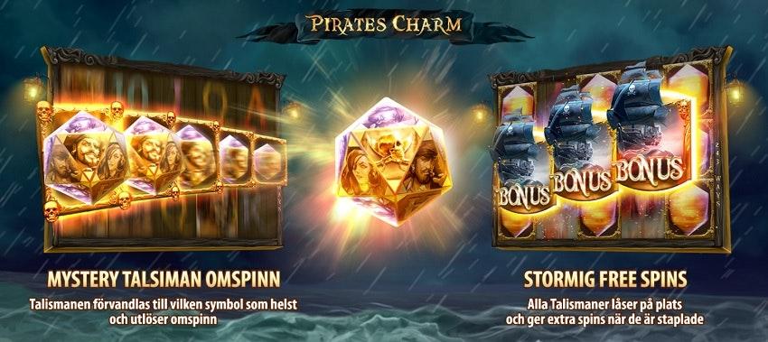Funktionerna i Pirates Charm