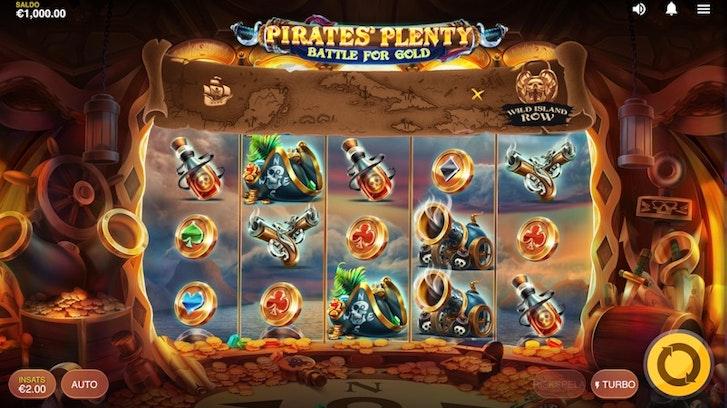 Pirates' Plenty - Battle for Gold från Red Tiger Gaming