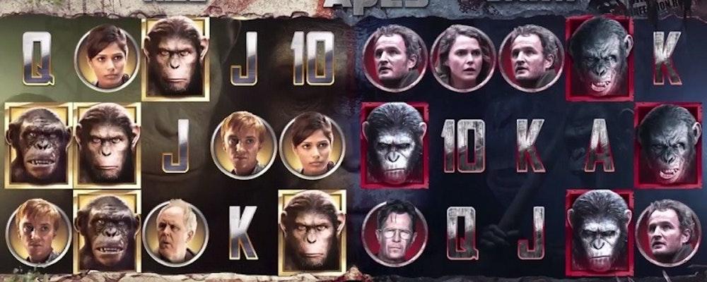 Planet of the Apes från NetEnt kommer nog att bli årets bästa slot
