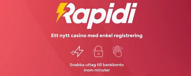 Ett ultrasnabbt casino lanseras i Sverige
