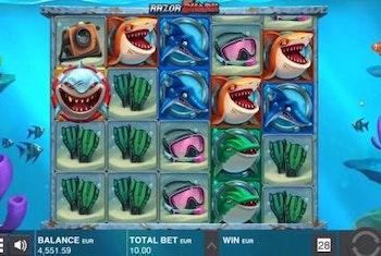 32-årig spelare vann 4 miljoner kronor på Razor Shark