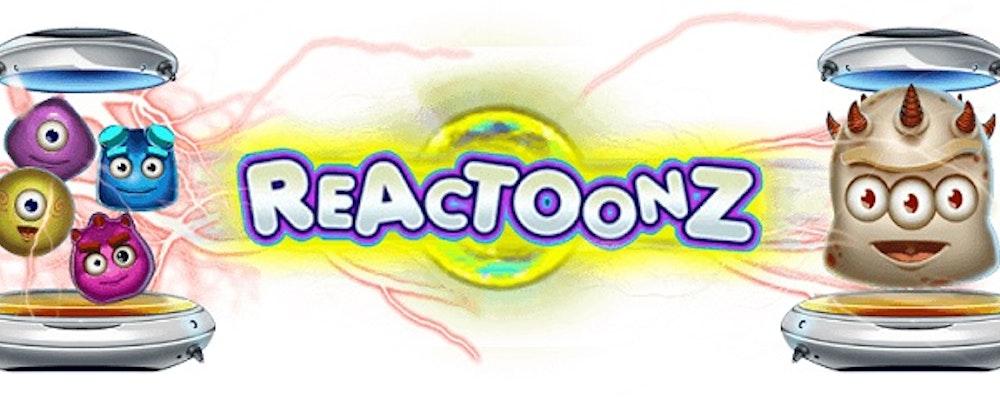 Reactoonz från Play'N GO lanserat