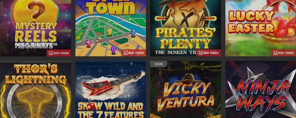 Nu finns Red Tiger hos Genesis Casino