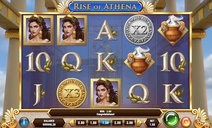 Rise of Athena från Play'N Go