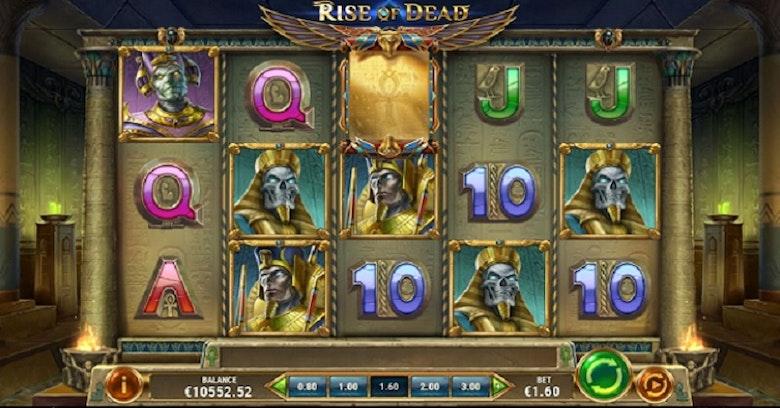 Testa Rise Of Dead av Play'n Go