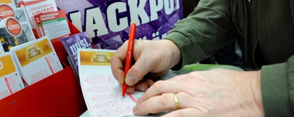 Rörmokare vann 7,9 miljoner kronor på Eurojackpot
