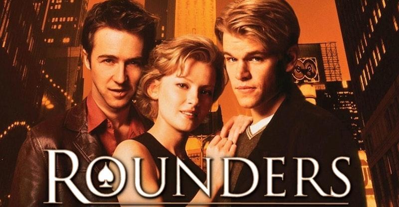 Rounders med Matt Damon