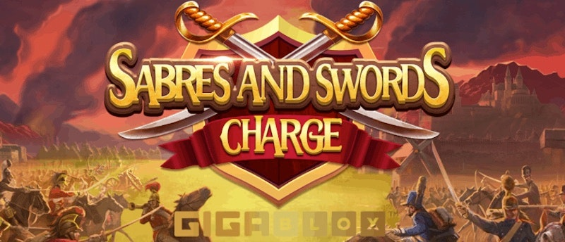 Sabres and Swords Charge Gigablox från Yggdrasil