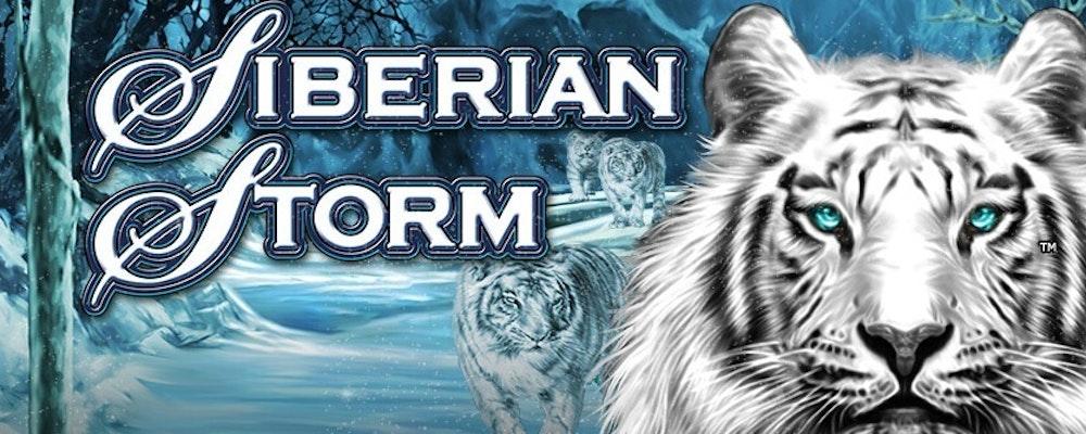 Spela Siberian Storm och tävla om 150 000 kr hos Mr Green