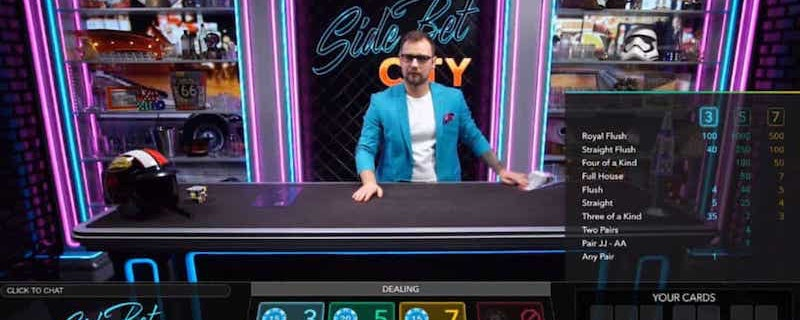 Evolution Gaming lanserar 80-tals live pokerrum