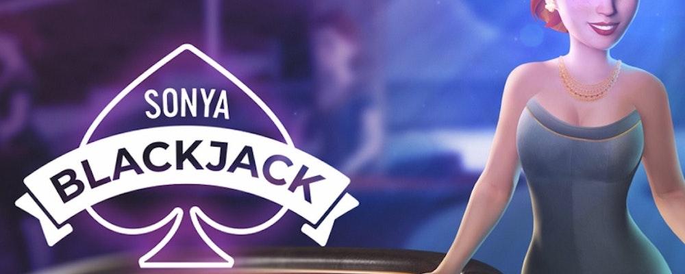 Sonya Blackjack från Yggdrasil är här!