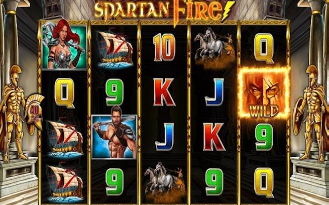 Spartan Fire från Lightning Box