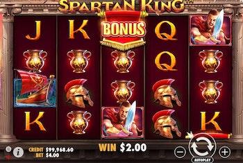 Spartan King från Pragmatic Play