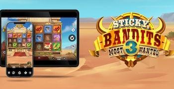 Sticky Bandits Most Wanted från Quickspin