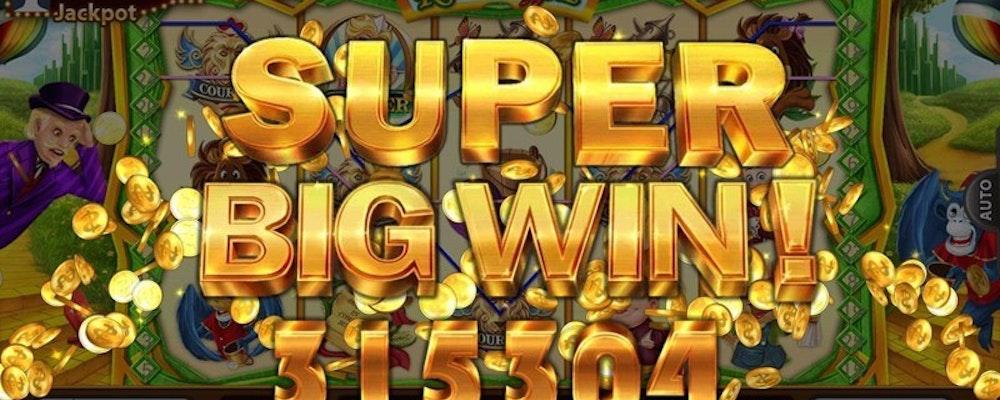 Vilken är den störsts vinst som delats ut på ett online casino?