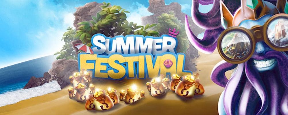 Stor sommarfestival pågår hos casinot med det största äventyret