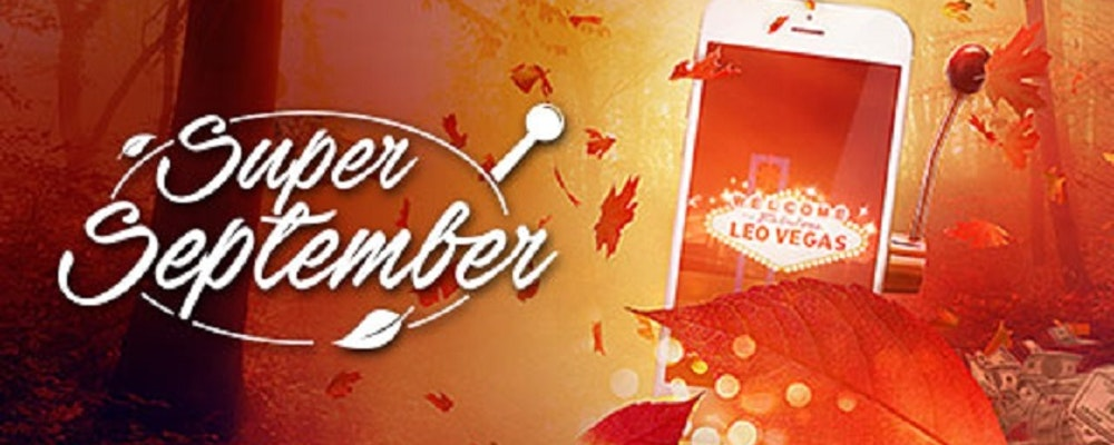 Höstens största casinokampanj heter Super September