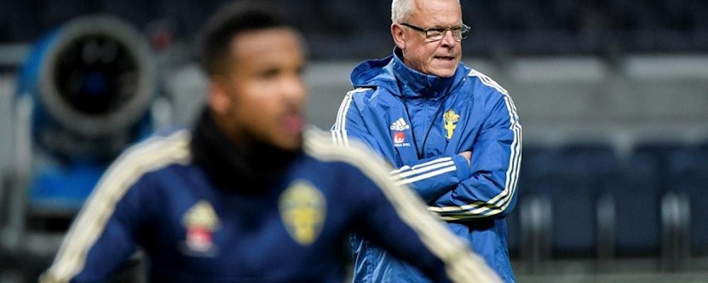 Sverige mot Ryssland i UEFA Nations League