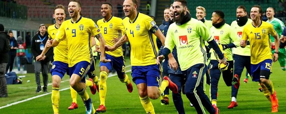 Tio gånger pengarna på att Sverige vinner mot Schweiz