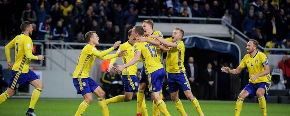 Drömmar av guld för svenska landslaget idag