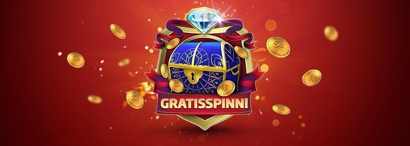 I helgen är det casinohelg hos SverigeCasino - du får freespins