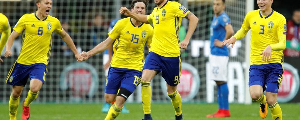 Svettigt värre för Sverige