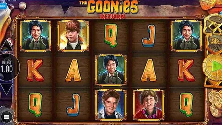 The Goonies Return från Blueprint Gaming