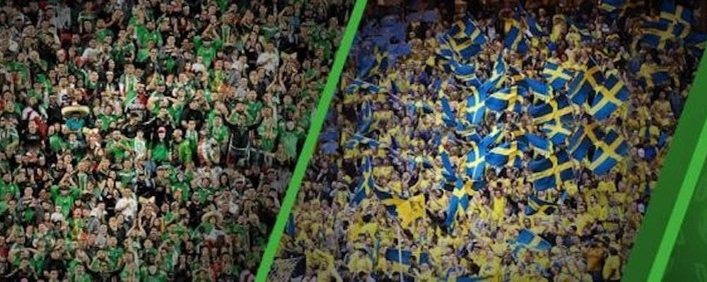 Tio gånger pengarna på Sverige mot Mexiko