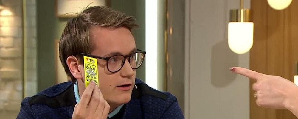 Mathias vann 3,6 miljoner på triss