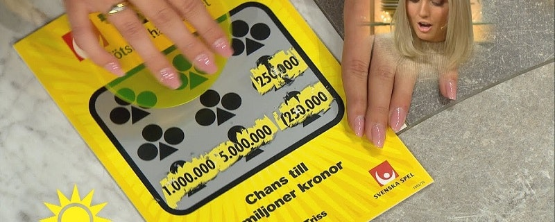Solna-paret vann 100 000 kronor på Triss