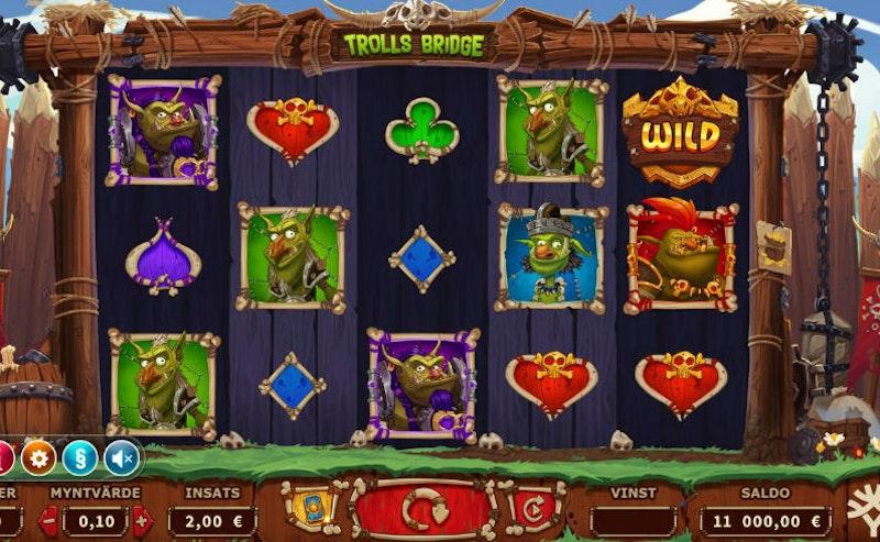 Trolls Bridge från Yggdrasil