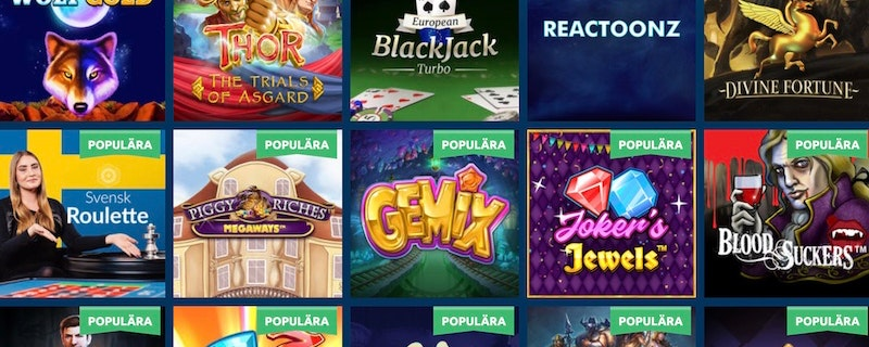Intressant casinolansering i Sverige