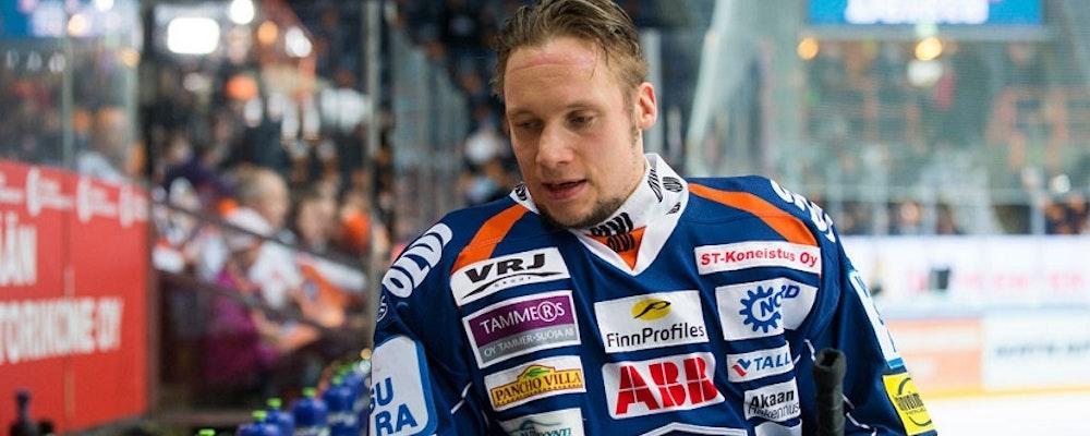 Mäntyläs säsong över i Malmö Redhawks