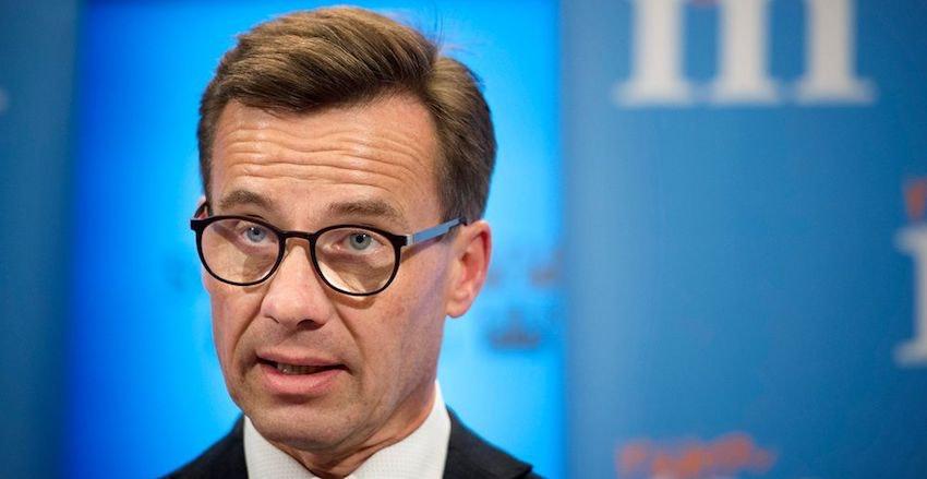 Ulf Kristersson från Moderaterna