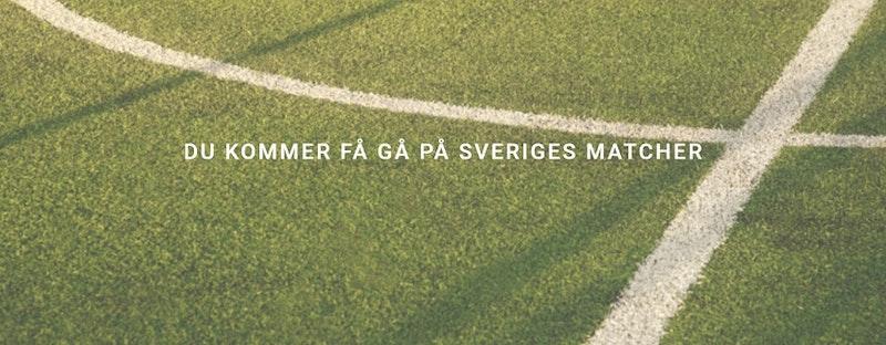Gå på Sveriges alla matcher