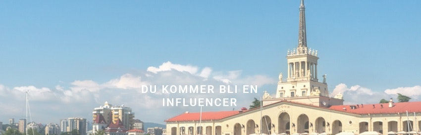 Bli en influencer