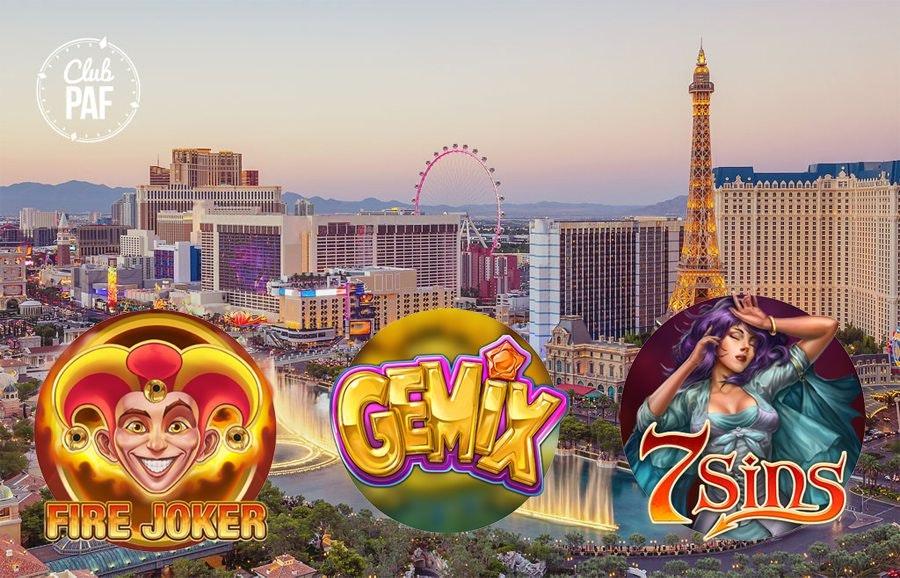 Las Vegas tävling hos Paf Casino