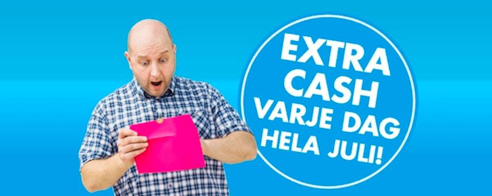 10 000 kr Lottas ut Varje Dag i Juli Hos Lekfullt & Roligt Casino
