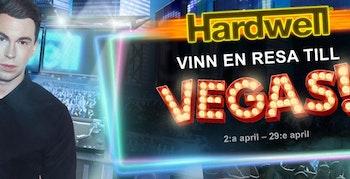 Spela Hardwells nya slot och vinn resa till Las Vegas