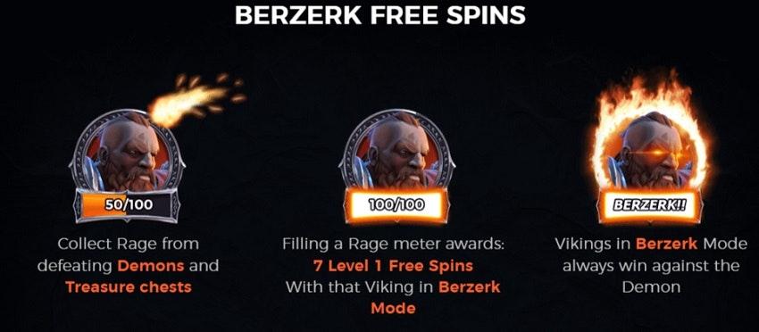 Free Spins Berzerk