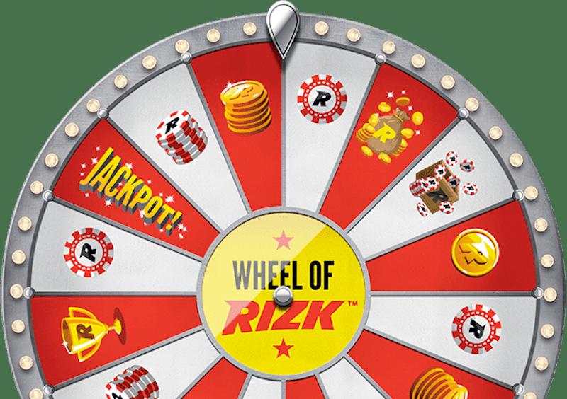 Bonushjulet Wheel of Rizk